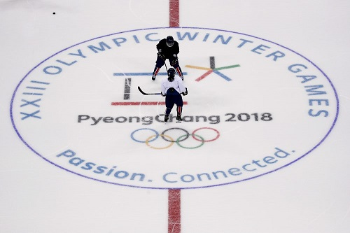 Winter Olympics on TV